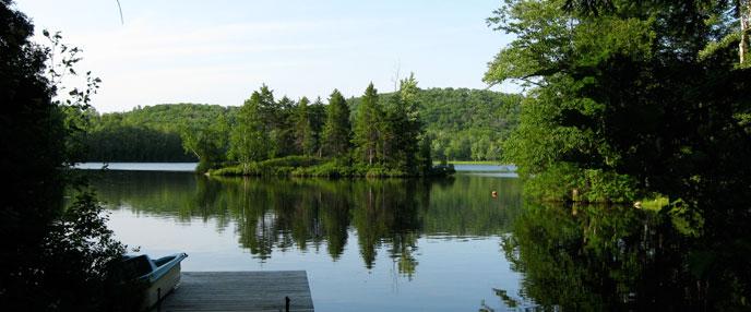 Domaine Ste Flore Cottages For Rent Mauricie Quebec